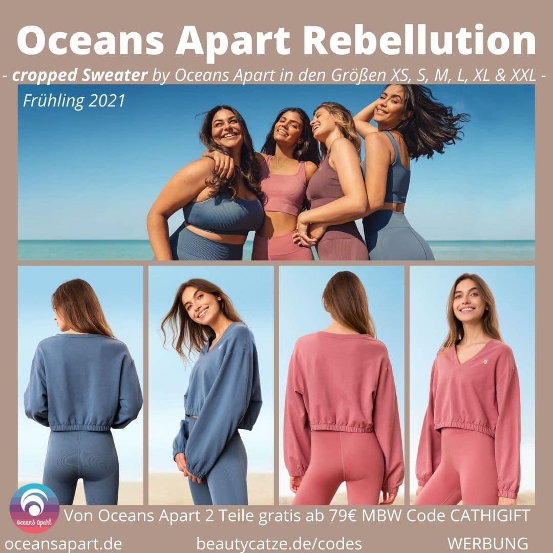 Oceans Apart Erfahrungen VIVID ALEA Rebellution Collection Sweater Bewertung Größe Stoff