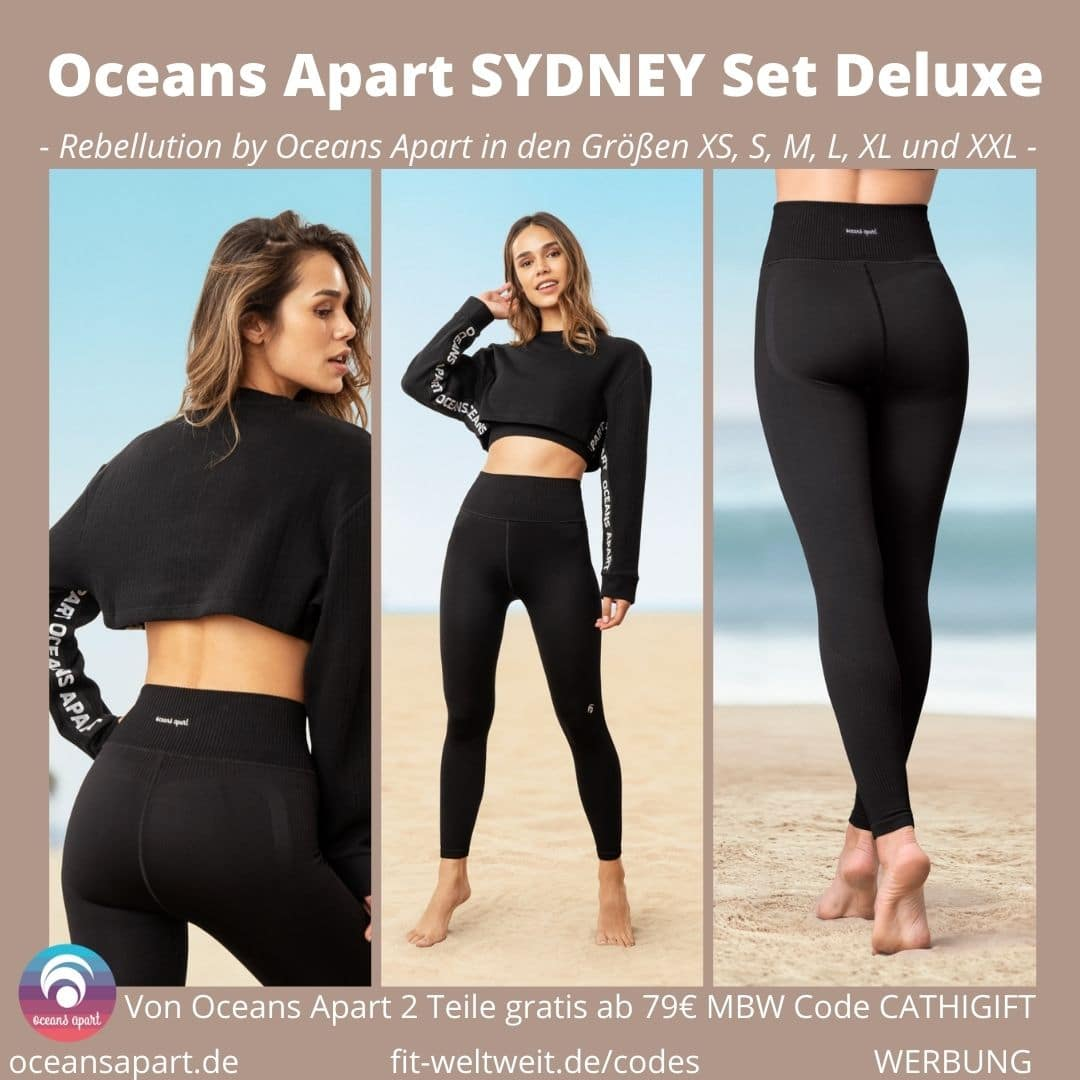 Oceans Apart SYDNEY Set Deluxe Erfahrungen Pant Bra Sweater Bewertung Größe Stoff