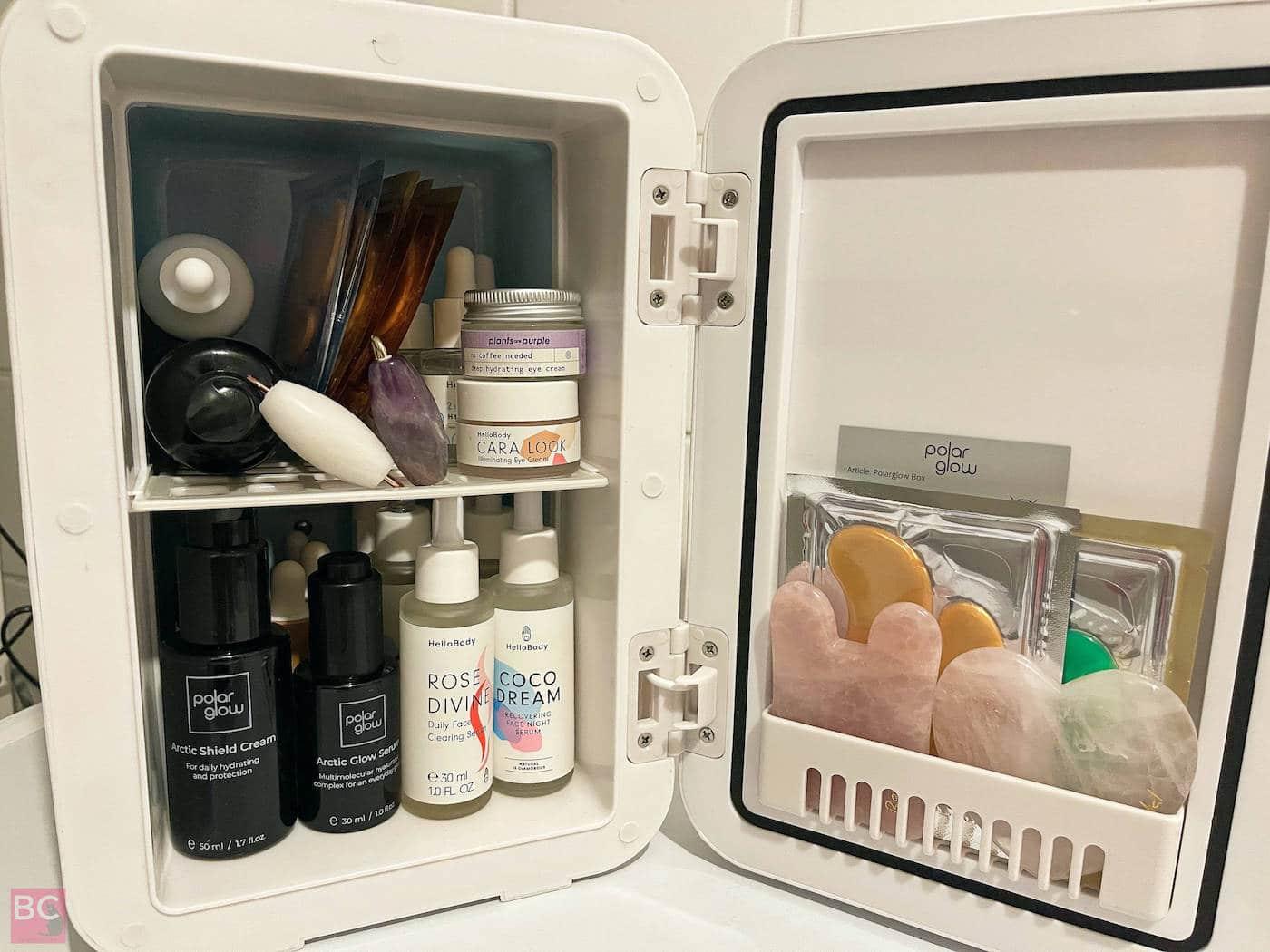 POLARGLPOLARGLOW GLOWBOX BOX Kühlbox Was passt alles rein in den Mini KühlschrankOW GLOWBOX BOX Kühlbox Was passt alles rei in den Mini Kühlschrank
