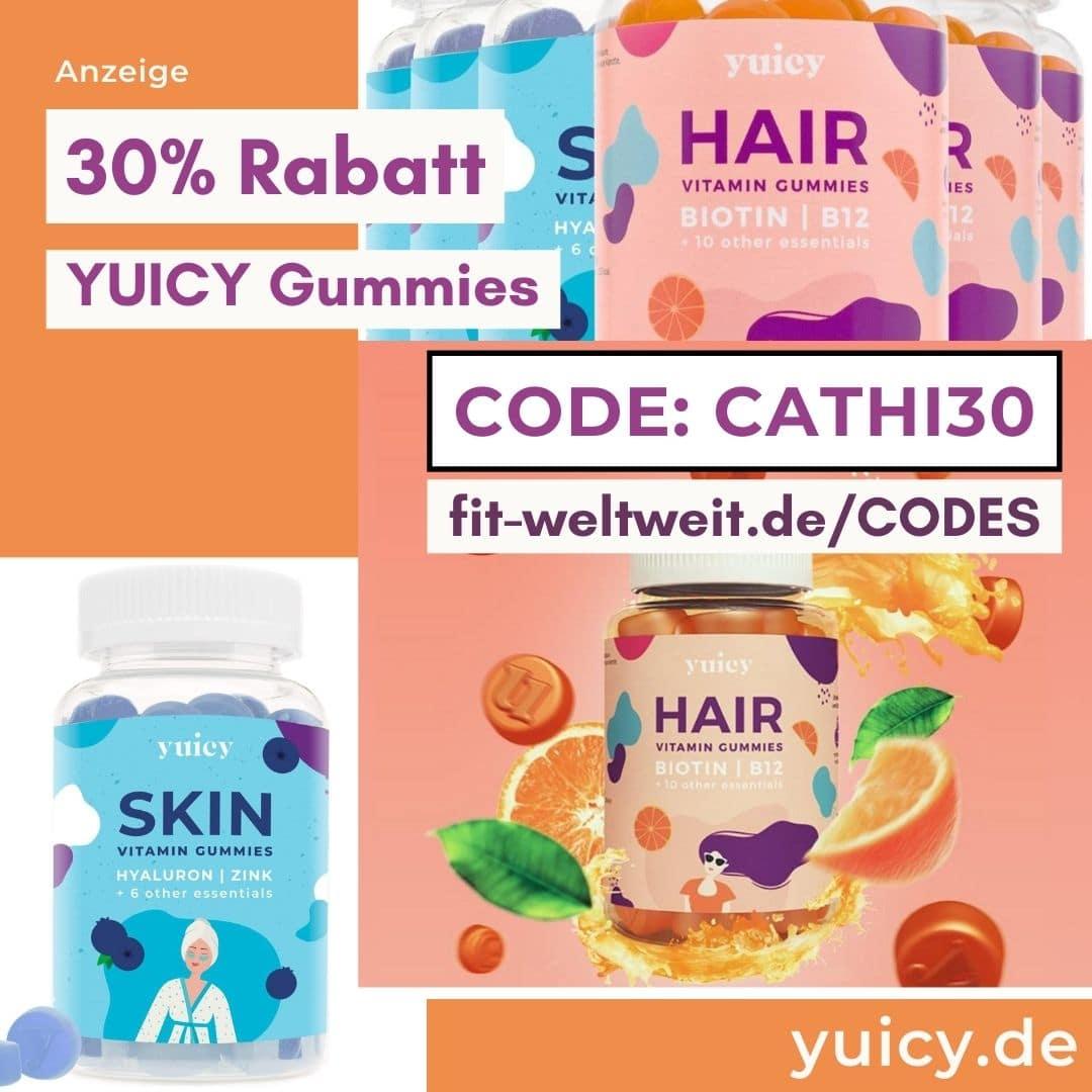30% YUICY Rabattcode CATHI30