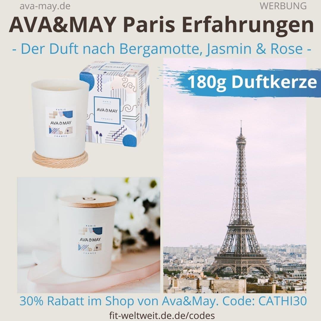AVA and MAY Paris 180g Duftkerze France