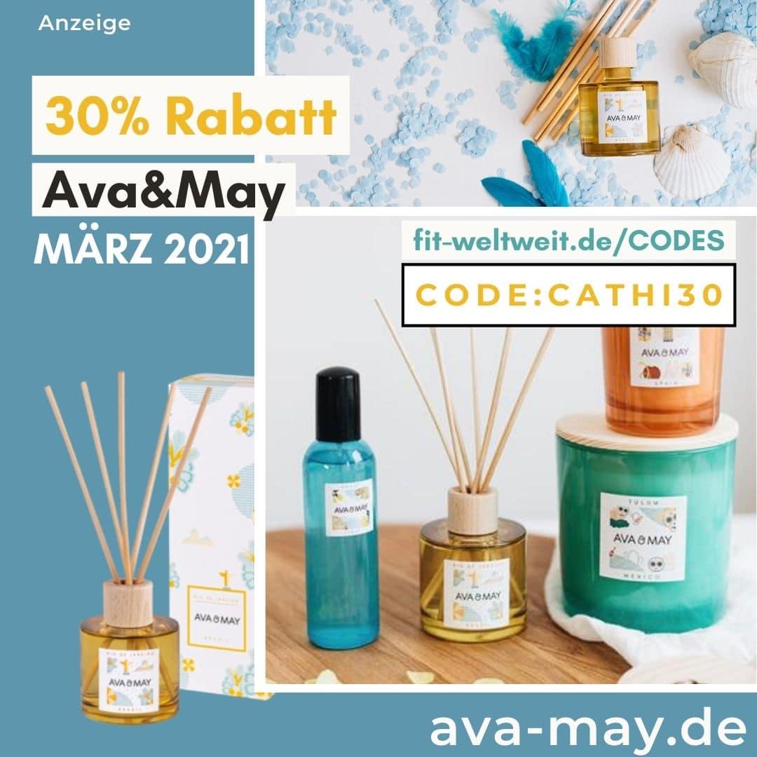 Ava and May Code März 2021 30% im Shop Gutscheincode 50% Rabatt auf Sets