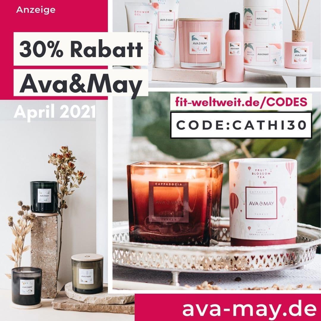 Bis zu 50% Rabatt bei Ava & May 30% Gutscheincode