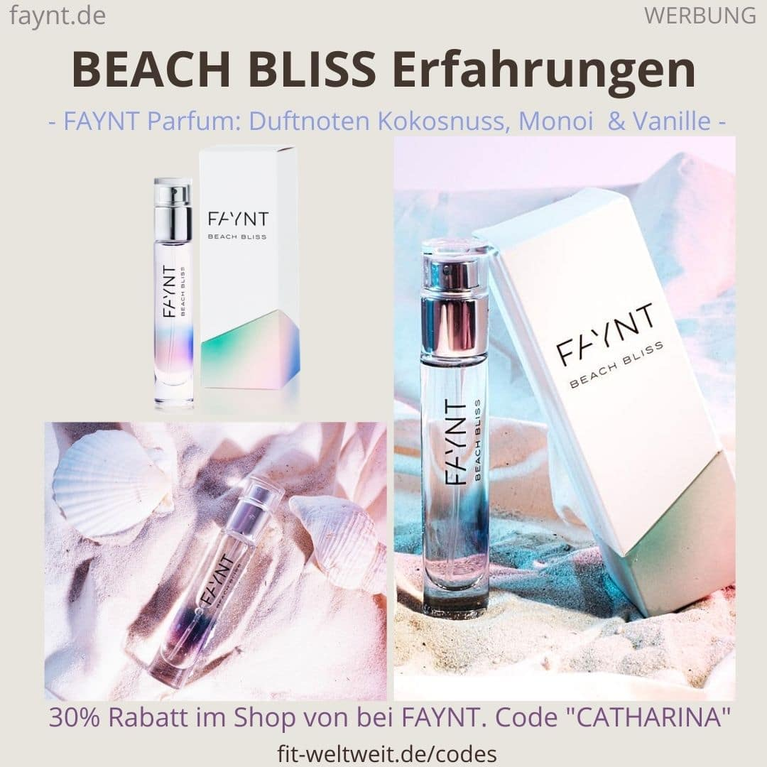 FAYNT BEACH BLISS ERFAHRUNGEN Parfum Duft Bewertung