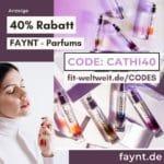 FAYNT CODE 40% Rabatt Parfums AVA and MAY Düfte