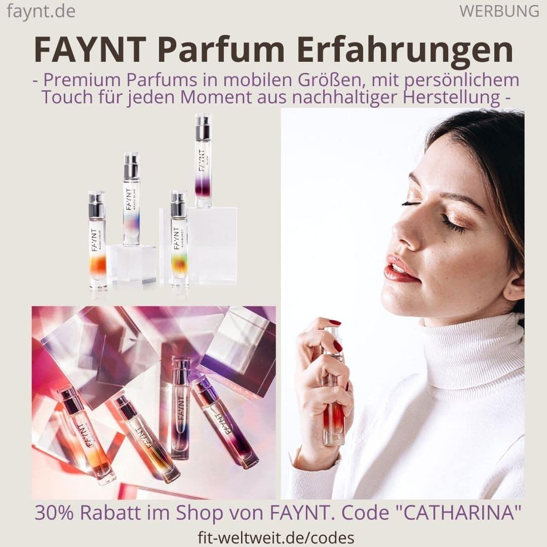 FAYNT Erfahrungen Parfum Düfte Parfüm Rabattcode