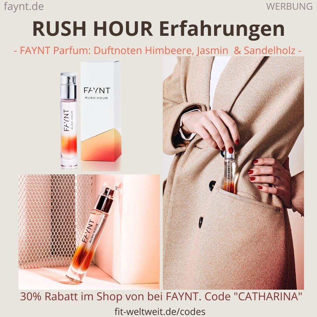 FAYNT RUSH HOUR ERFAHRUNGEN Parfum Duft Bewertung