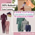 LES LUNES CODE 50% RABATT 2021 März Gutscheincode
