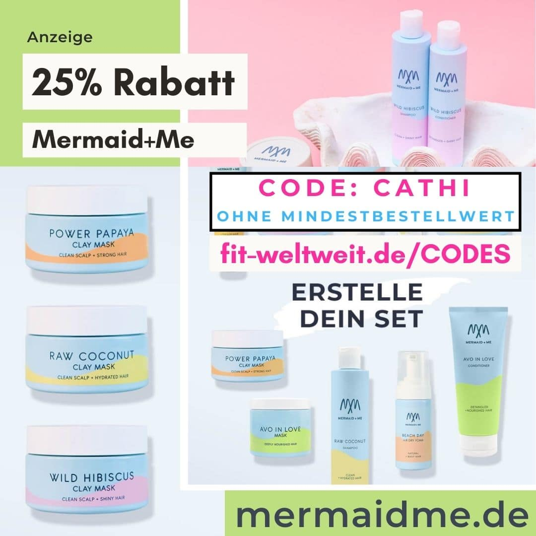 Mermaid and Me Code 25% Rabatt Gutschein 2021