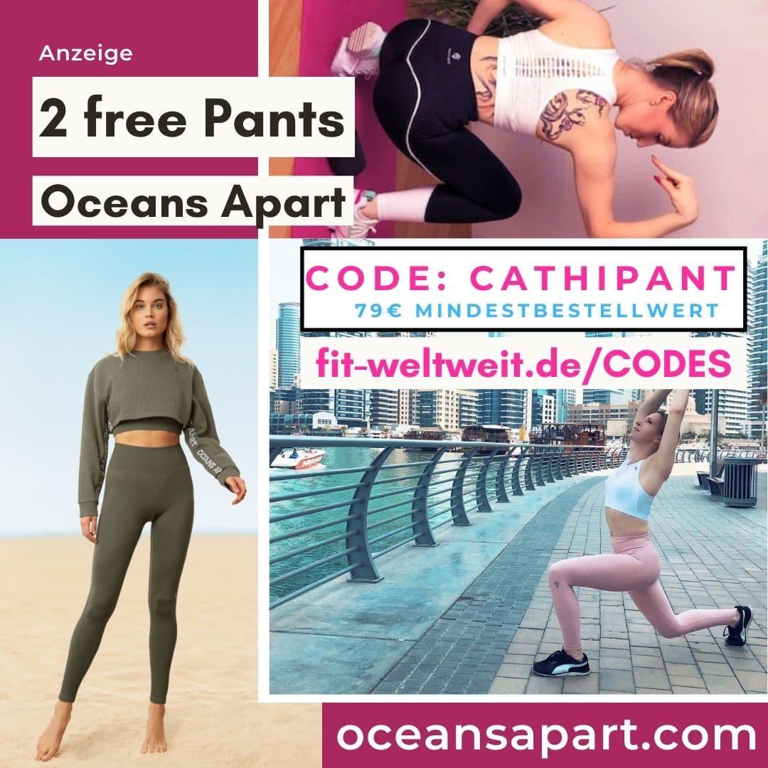 2 gratis Leggings Oceans Apart Code 2021
