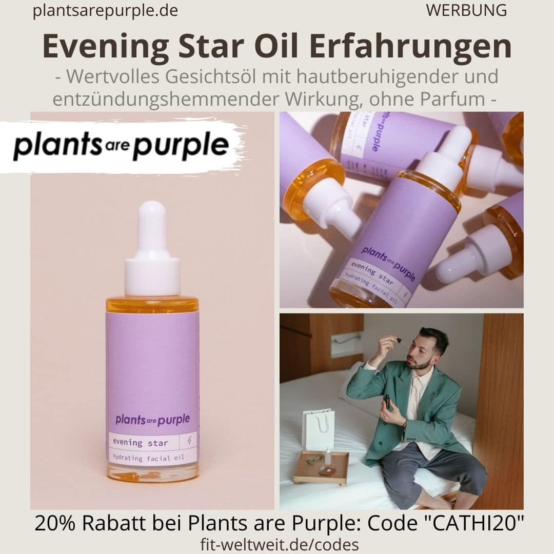EVENING STAR OIL Erfahrungen Plants are Purple Gesichtsöl