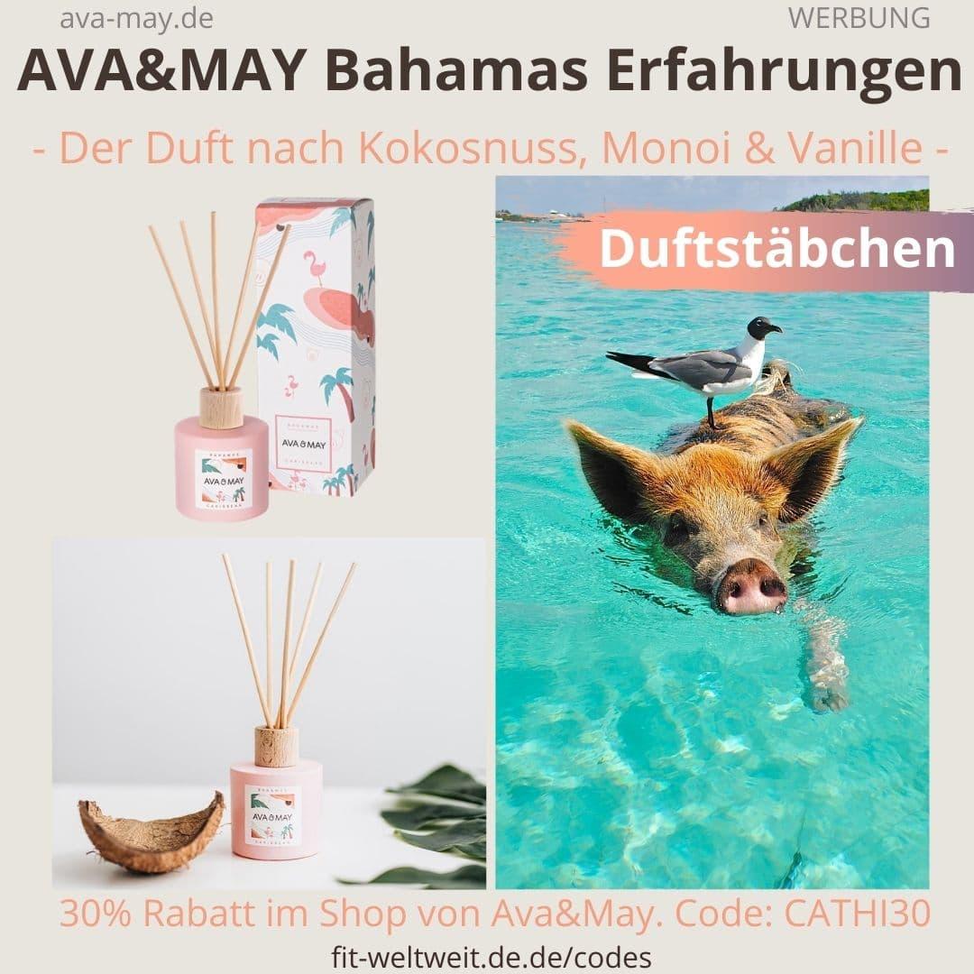 Erfahrungen AVA and MAY BAHAMAS 100ml Duftstäbchen Caribbean