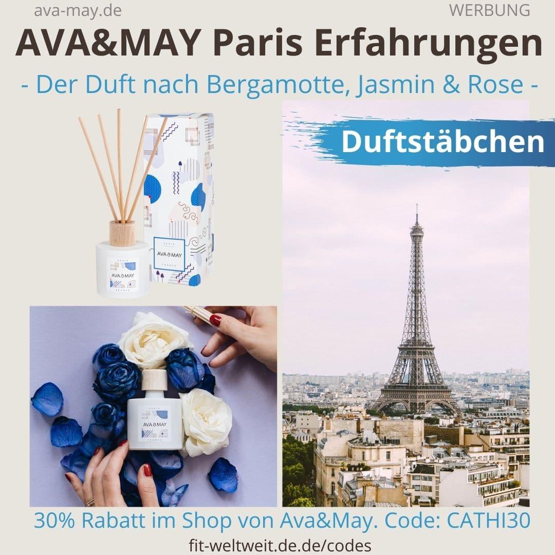 Erfahrungen AVA and MAY Paris 100ml Duftstäbchen France