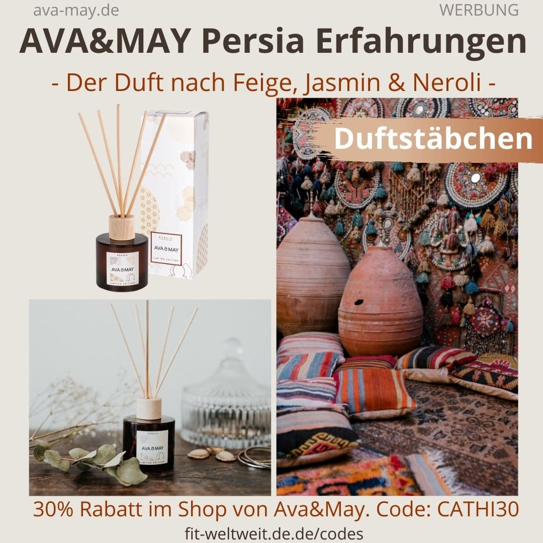 Erfahrungen AVA and MAY Persia 100ml Duftstäbchen Limited Edition