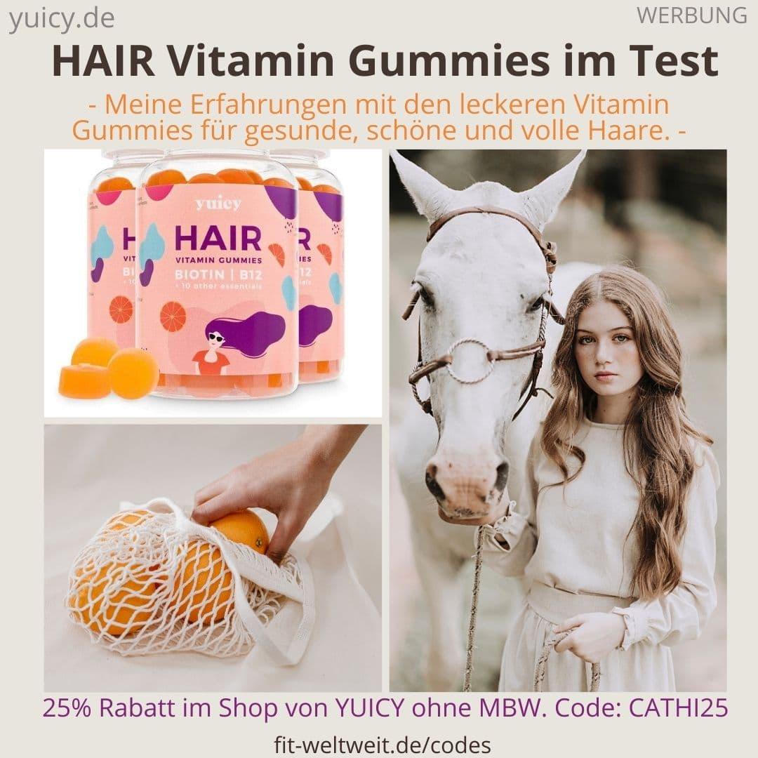 HAIR VITAMIN Gummies von Yuicy Erfahrungen