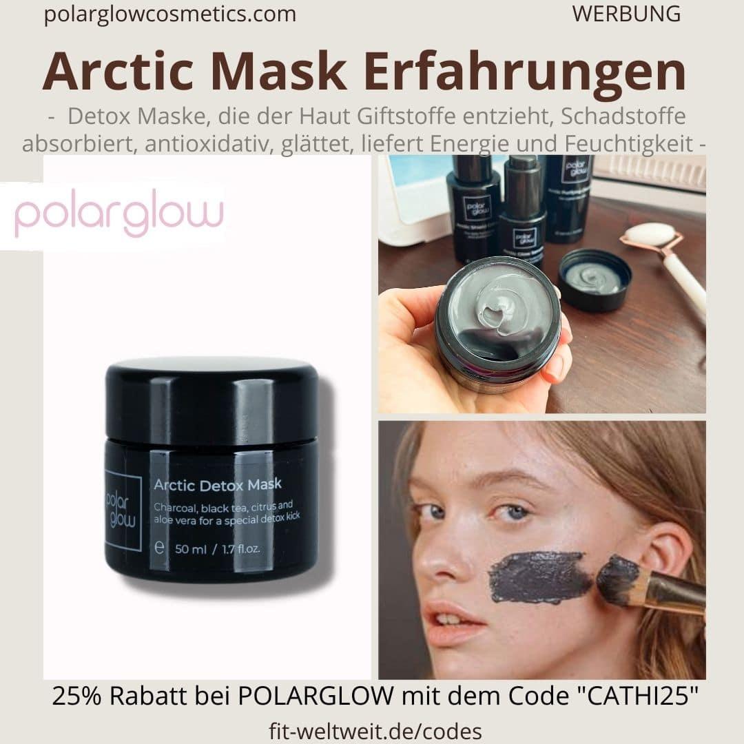 POLARGLOW BOX ERFAHRUNG Arctic Detox Mask Polar Glow Gesichtsmaske