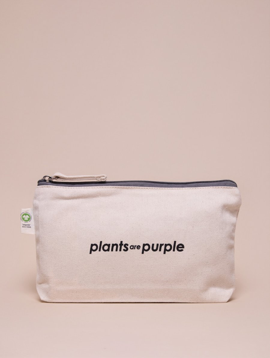 Palnts are Purple Kosmetiktasche Baumwolle The Beauty Bag