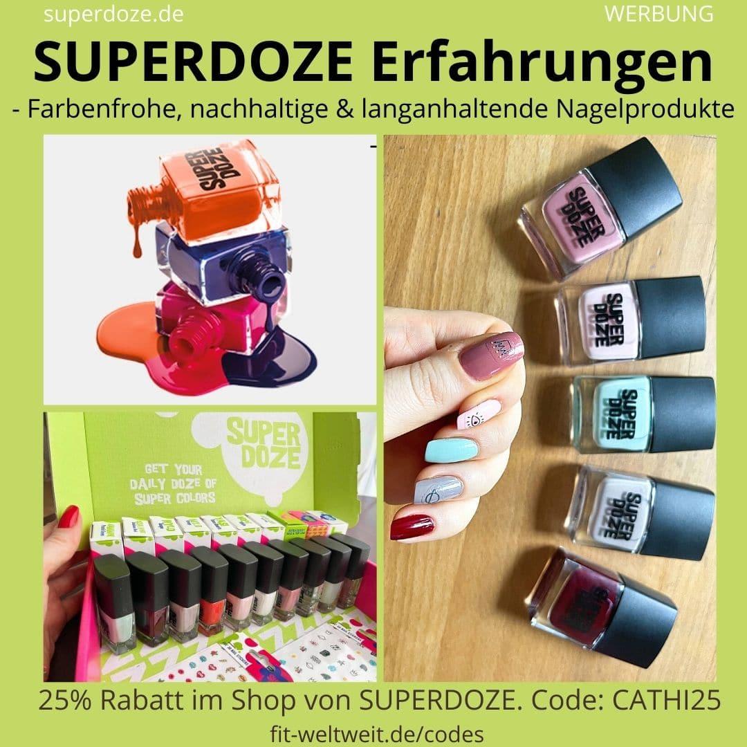 SUPERDOZE ERFAHRUNGEN Nagellack Farben im Test und Bewertung