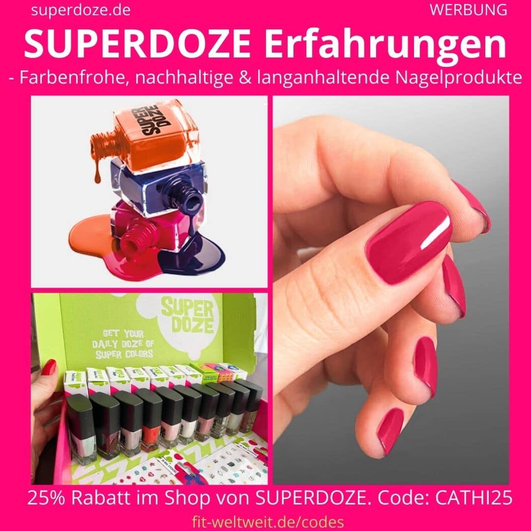 SUPERDOZE ERFAHRUNGEN Nagellack Farben