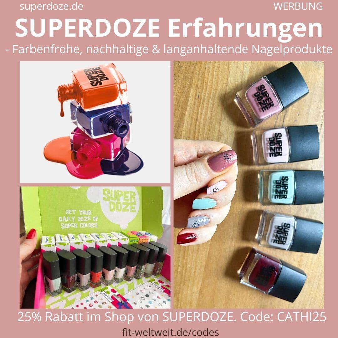 SUPERDOZE ERFAHRUNGEN Nagelprodukte Nagellack Farben