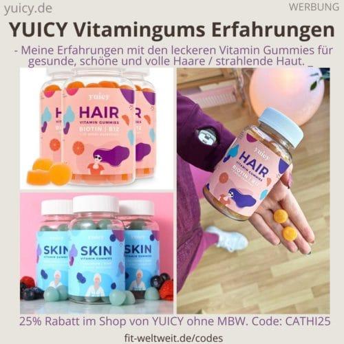YUICY ERFAHRUNGEN Vitamin Gummies im Test Bewertung