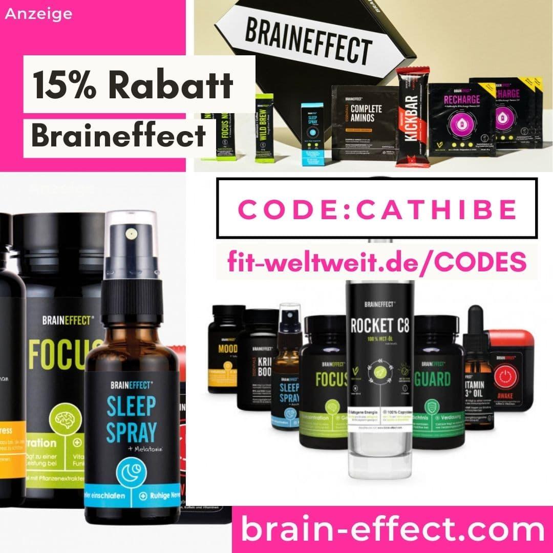 15% - 20% Braineffect Rabatt Code Gutschein 2021 Shop und Sets