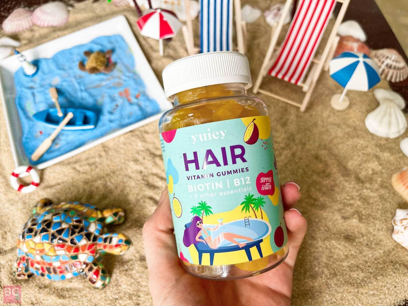 HAIR VITAMIN Gummies Yuicy Maracuja Sommer Erfahrungen Wirkung Bewertung Test