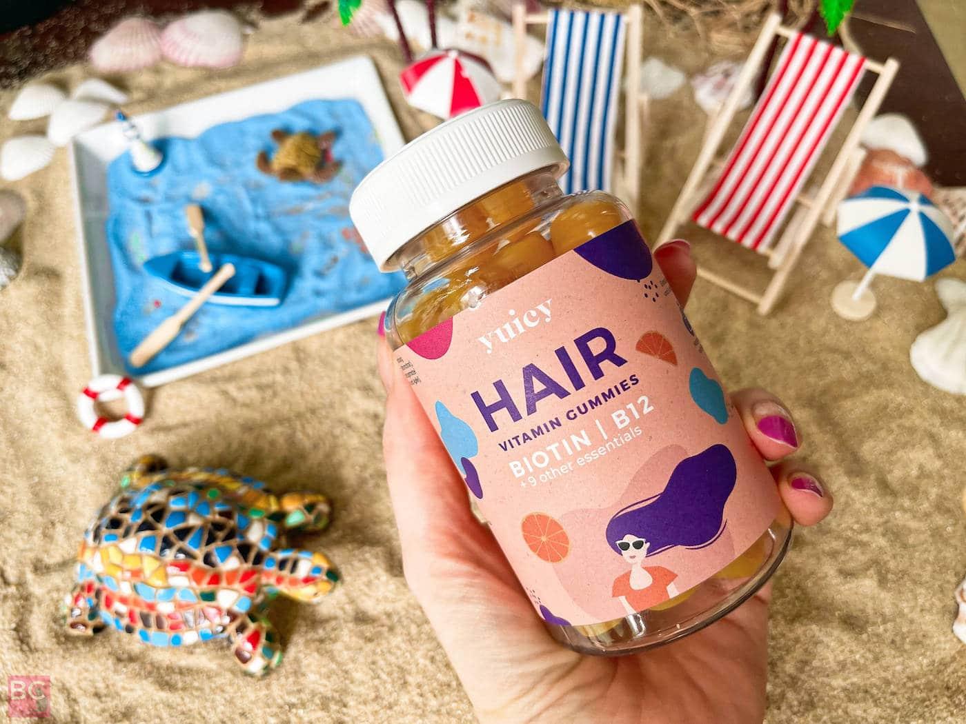 HAIR VITAMIN Gummies von Yuicy Erfahrungen Wirkung Bewertung Test