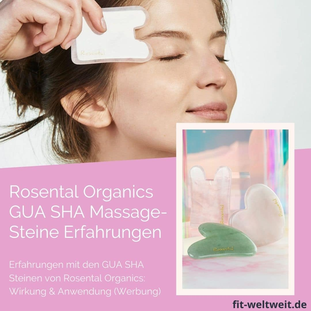 Rosental Organcis Gua SHa Massagestein Erfahrungen Unterschiede Anwendung