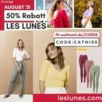 50% Les Lunes Rabattcode Special Deal Gutschein Code August 2021
