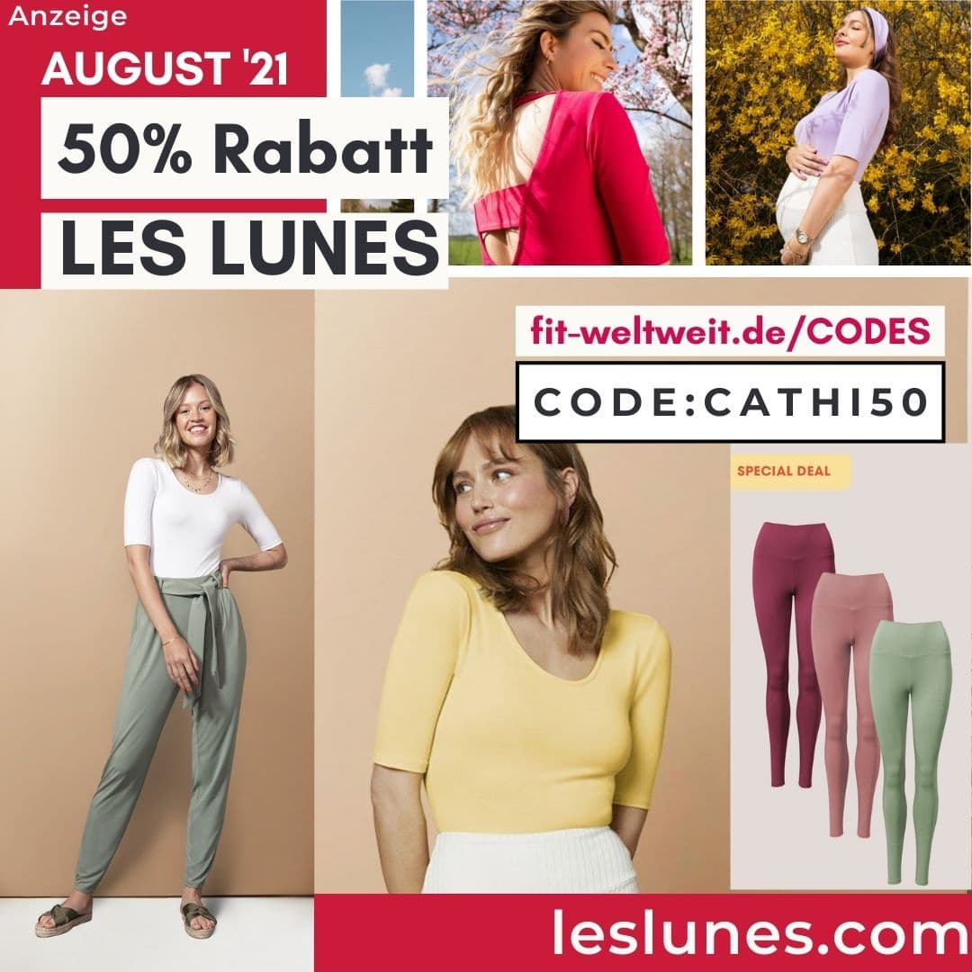 50% Les Lunes Rabattcode Special Deal Gutschein Code Oktober 2021
