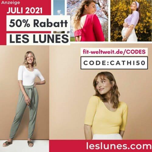50% Rabatt Les Lunes Rabattcode Juli 2021 Gutschein free Gift