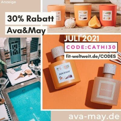 AVA and MAY Code Juli 2021 30% - 50% Rabatt sichern Gutscheincode CATHI30