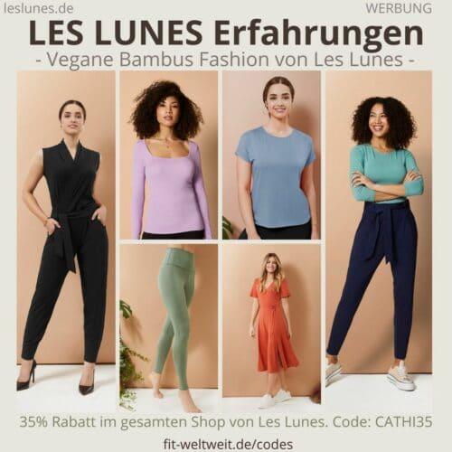 LES LUNES ERFAHRUNGEN vegane Bambus Fashion Kleidung Jumpsuits Jade Pants Tops Oberteile Hosen