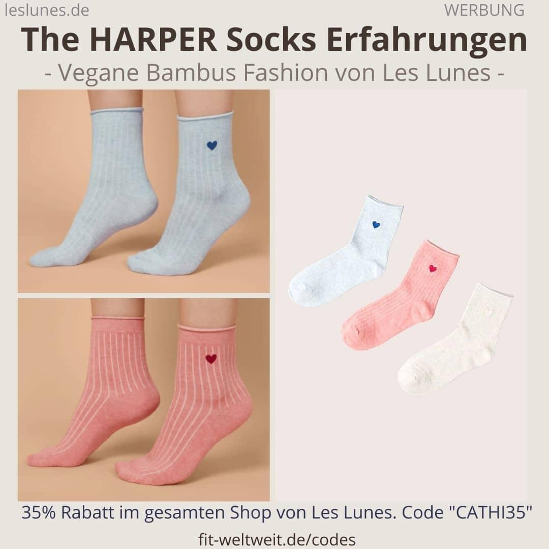 Les Lunes Erfahrungen Socken The HARPER SOCKS Les Lunes Erfahrungen Stoff Passform Größen, Qualität und Haltbarkeit
