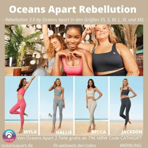 OCEANS APART REBELLUTION Myla Hallie Beccy Jackson Set Deluxe Größen Passform