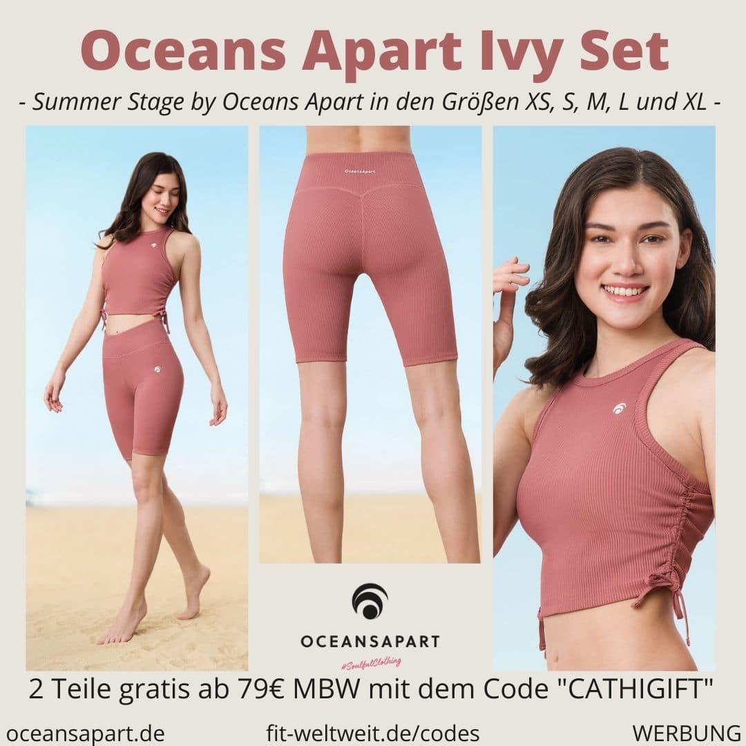 Oceans Apart IVY SET ERFAHRUNG Größe short top summer stage collection