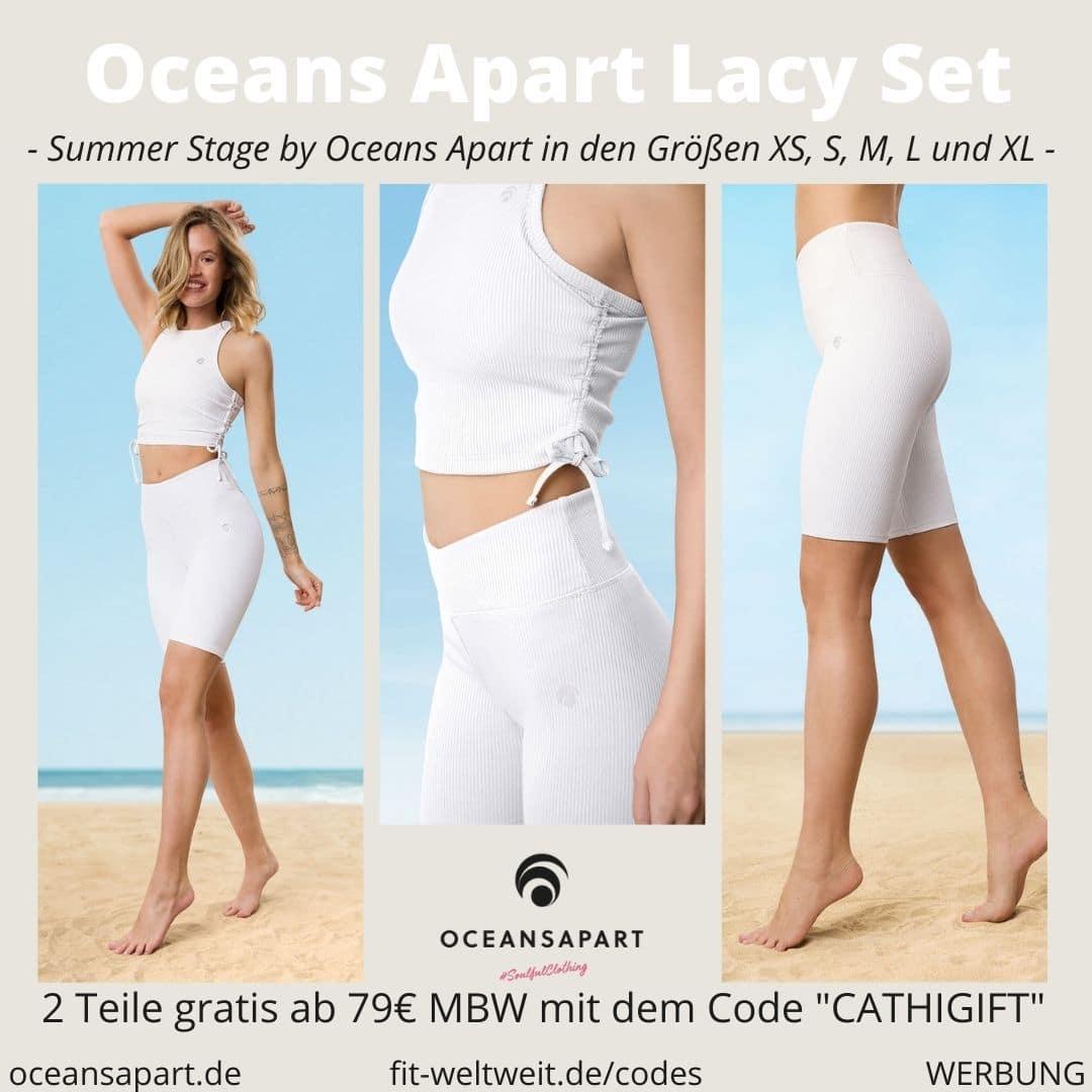 Oceans Apart LACY SET ERFAHRUNG Größe breeze short lindsay top summer stage collection