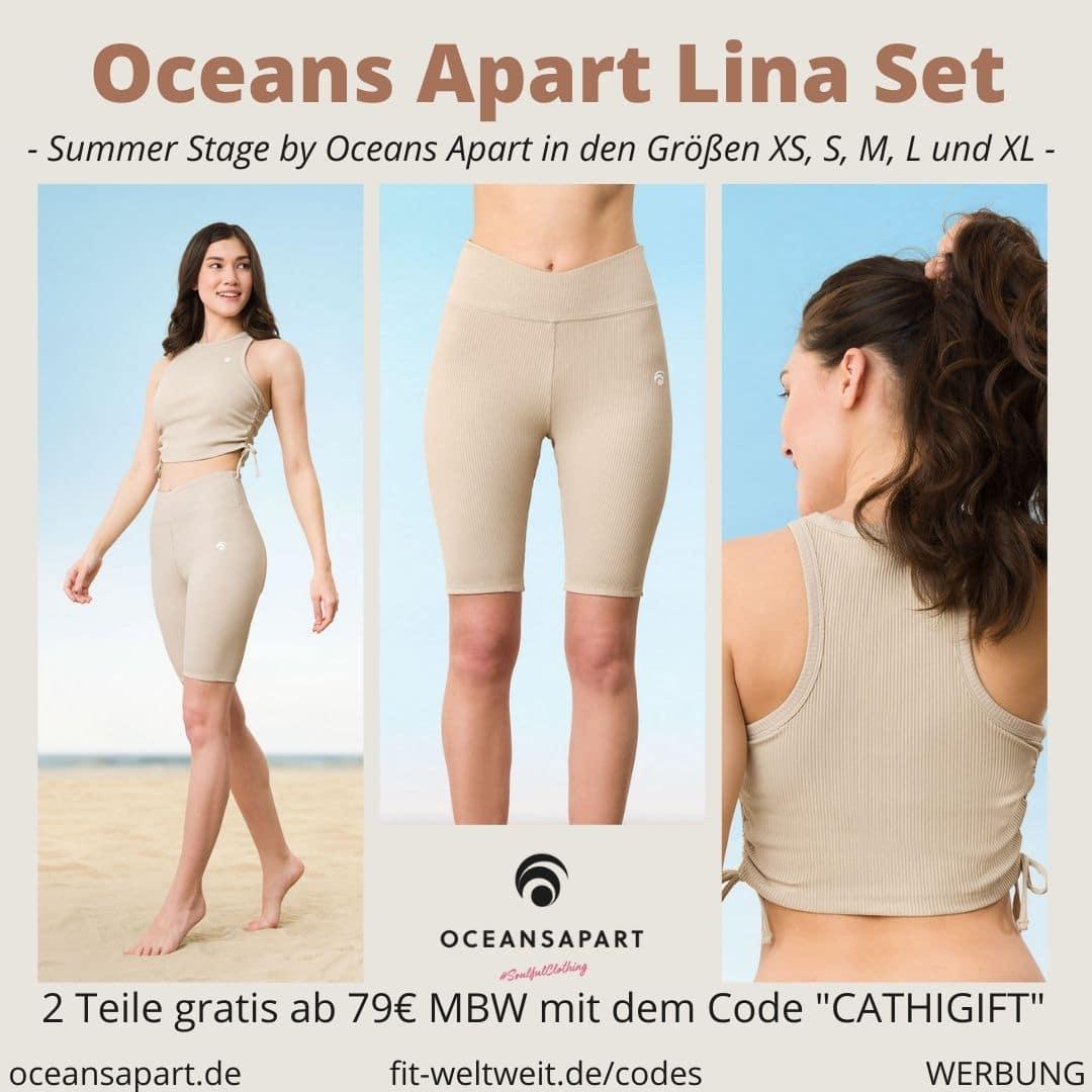 Oceans Apart LINA SET ERFAHRUNG Größe luna short top summer stage collection