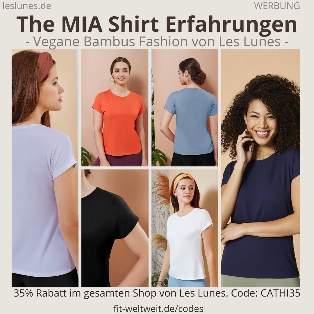 Das The MIA SHIRT ist ein Oberteil / T-Shirt von Les Lunes. Meine Erfahrungen mit dem Stoff, den Farben und der Größe hier.