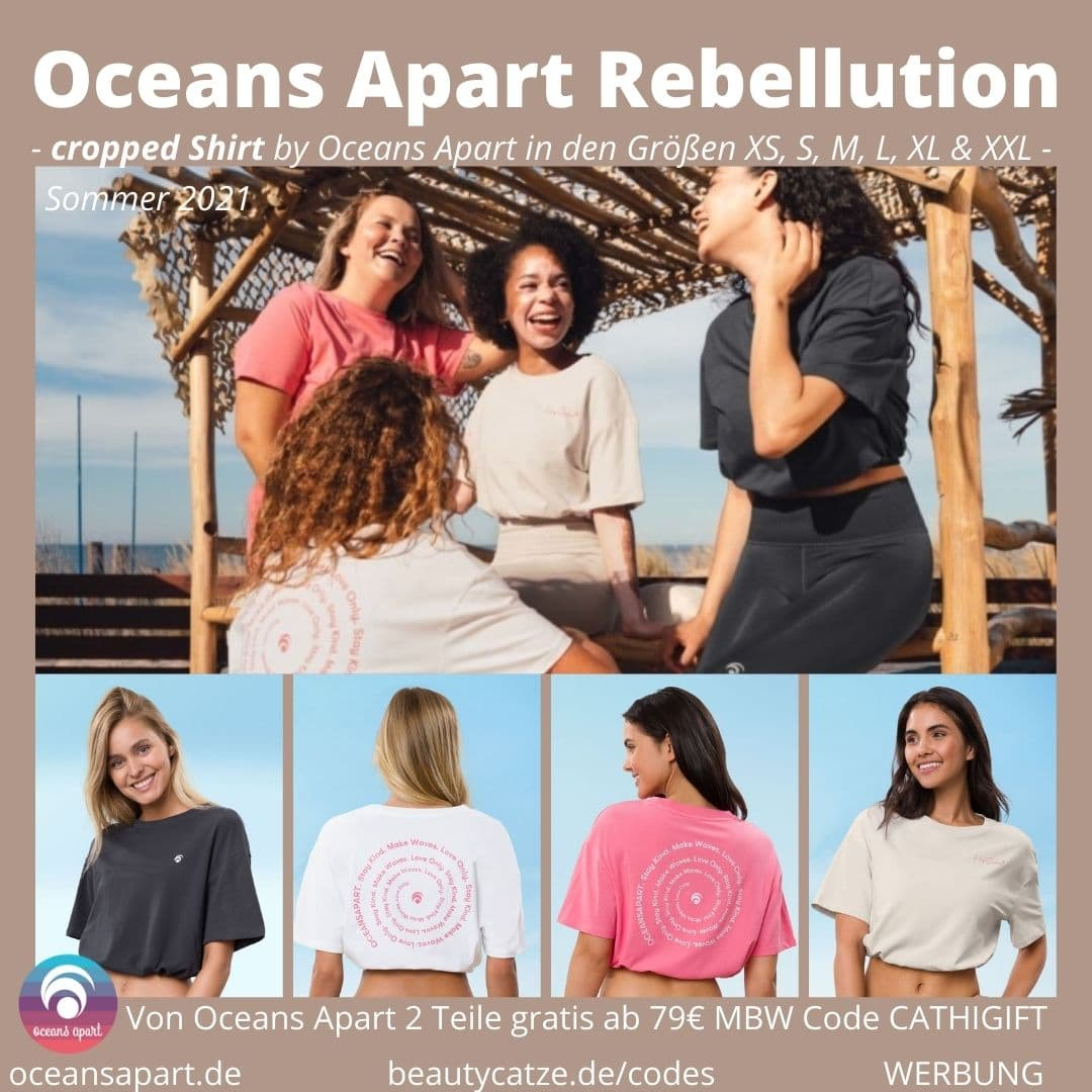 cropped Shirt OCEANS APART REBELLUTION Myla Hallie Beccy Jackson Set Deluxe Größen Passform