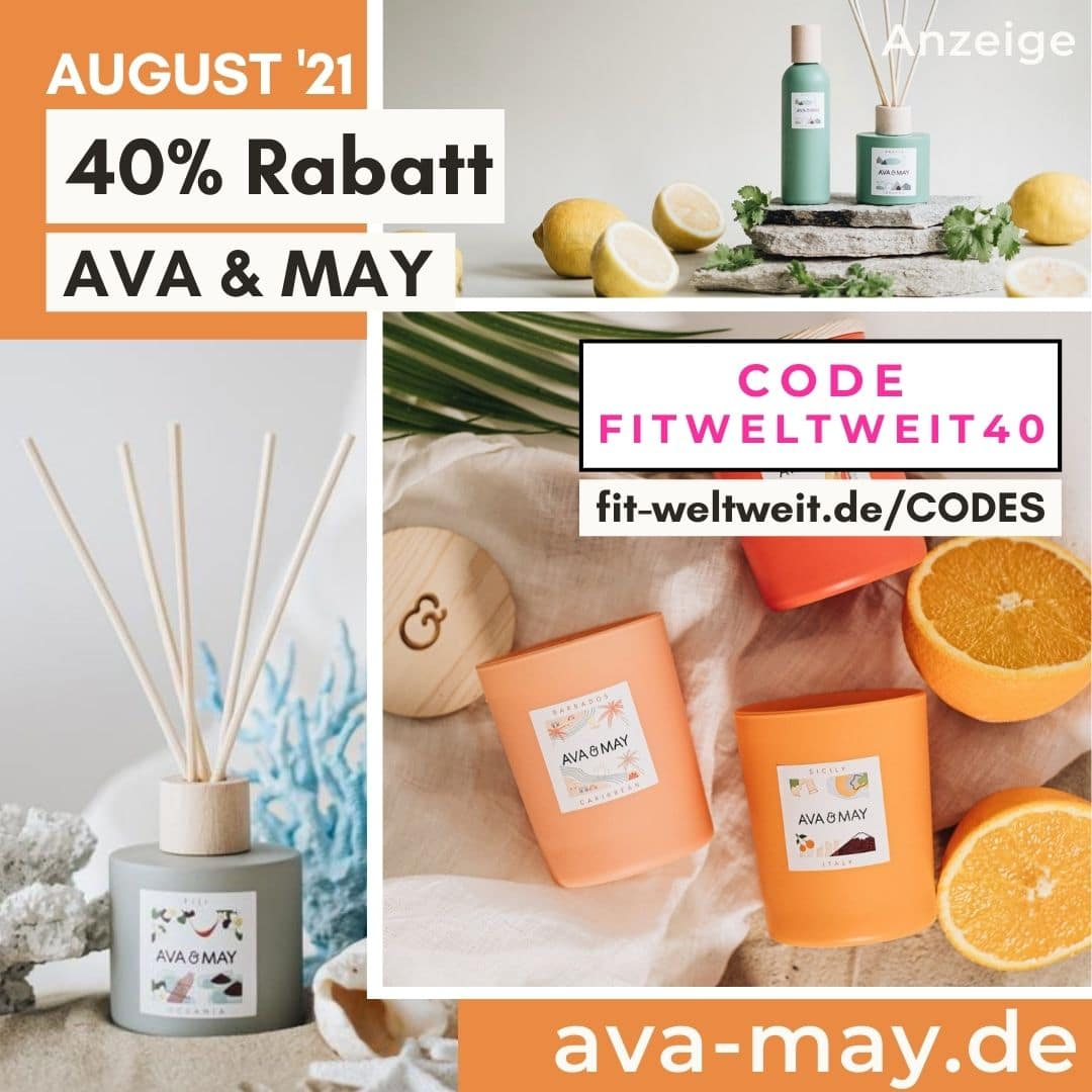 40% Rabattcode AVA & MAY Gutscheincode für Oktober 2021 Mix and Match Set Code 50% Rabatt