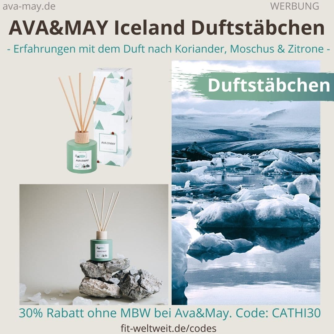 Erfahrungen AVA and MAY Iceland 100ml Duftstäbchen Arctic