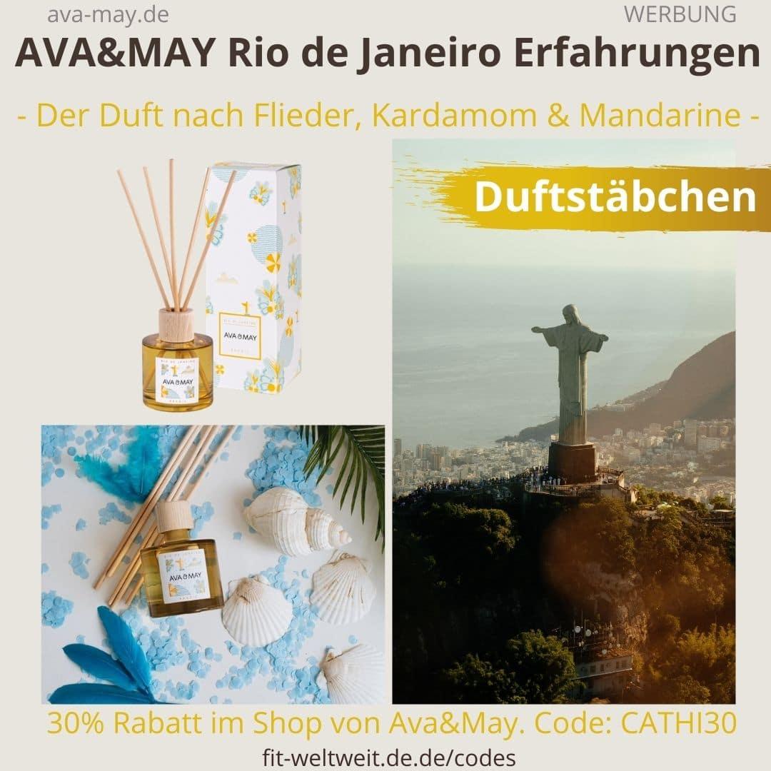 Erfahrungen AVA and MAY Rio de Janeiro 100ml Duftstäbchen Brazil