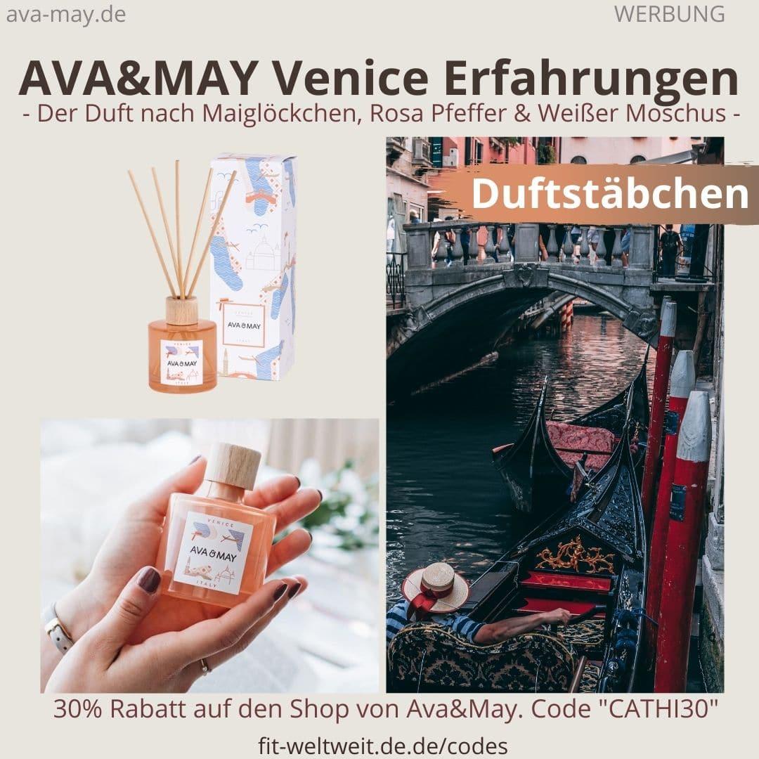 Erfahrungen AVA and MAY Venice 100ml Duftstäbchen Italy