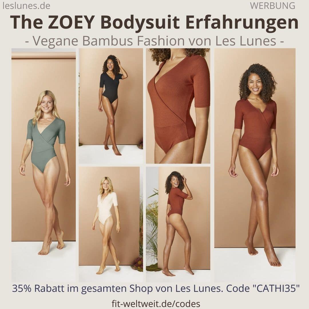 Erfahrungen Les Lunes The ZOEY BODYSUIT Oberteil Einteiler Body