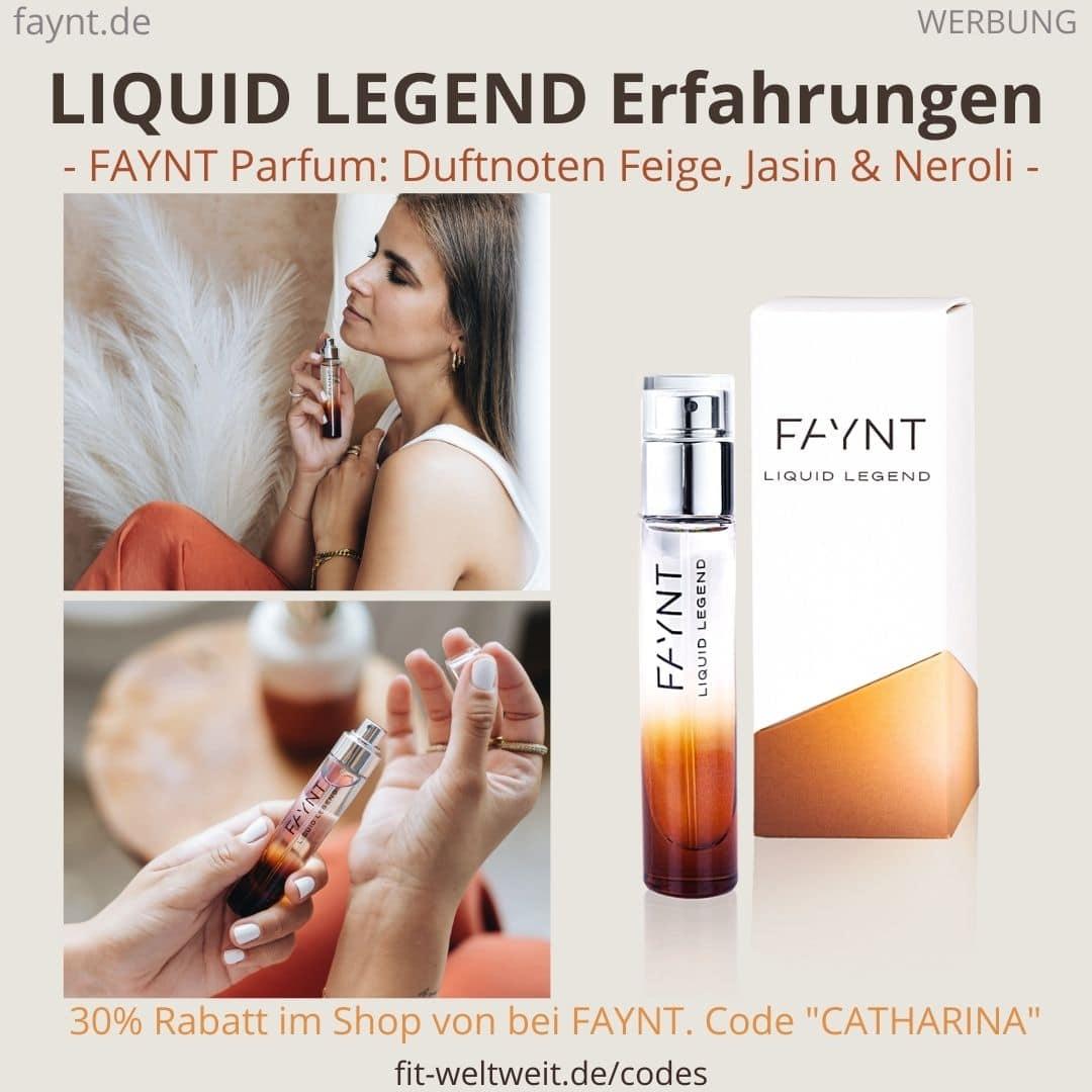 FAYNT Erfahrungen LIQUID LEGEND Warmes Parfüm mit süß-mystischen Duftnoten angelehnt an den Ava&May Duft Persia.