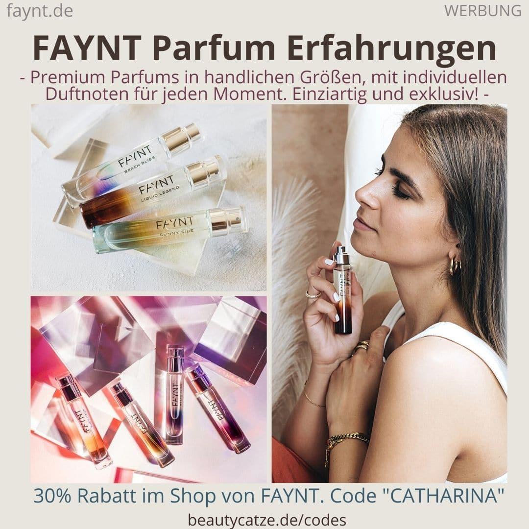 FAYNT Erfahrungen Parfum Düfte Parfüm handliche Größen Bestseller