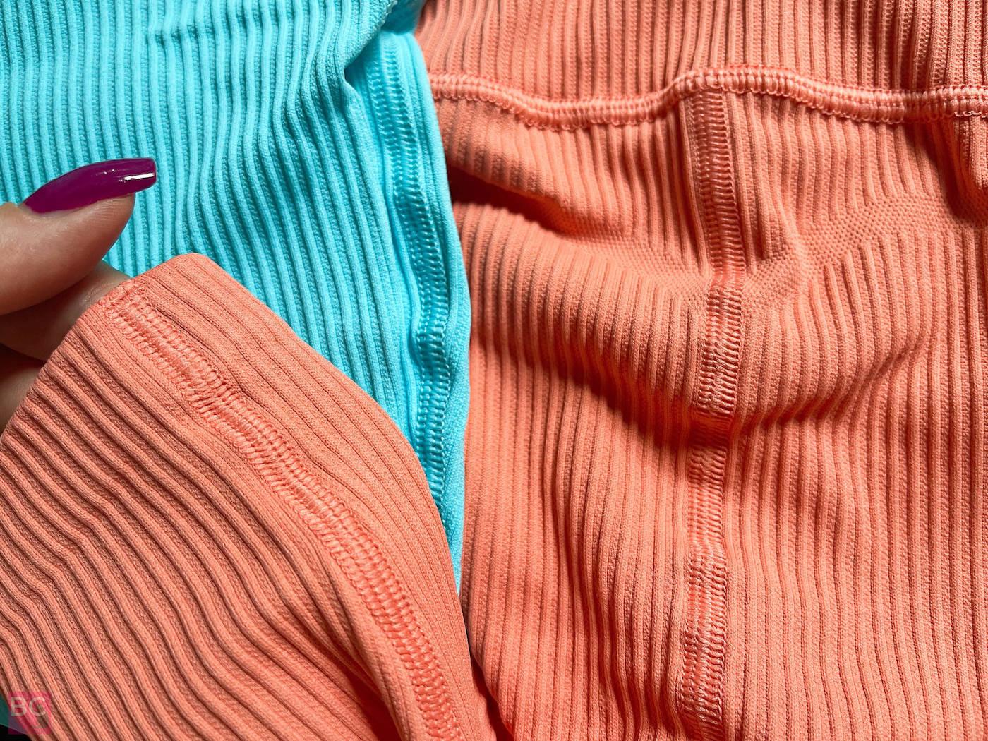 LEGGINGS PANTS Team Harrison Oceans Apart Collection Orange türkis Blooming Summmer Set