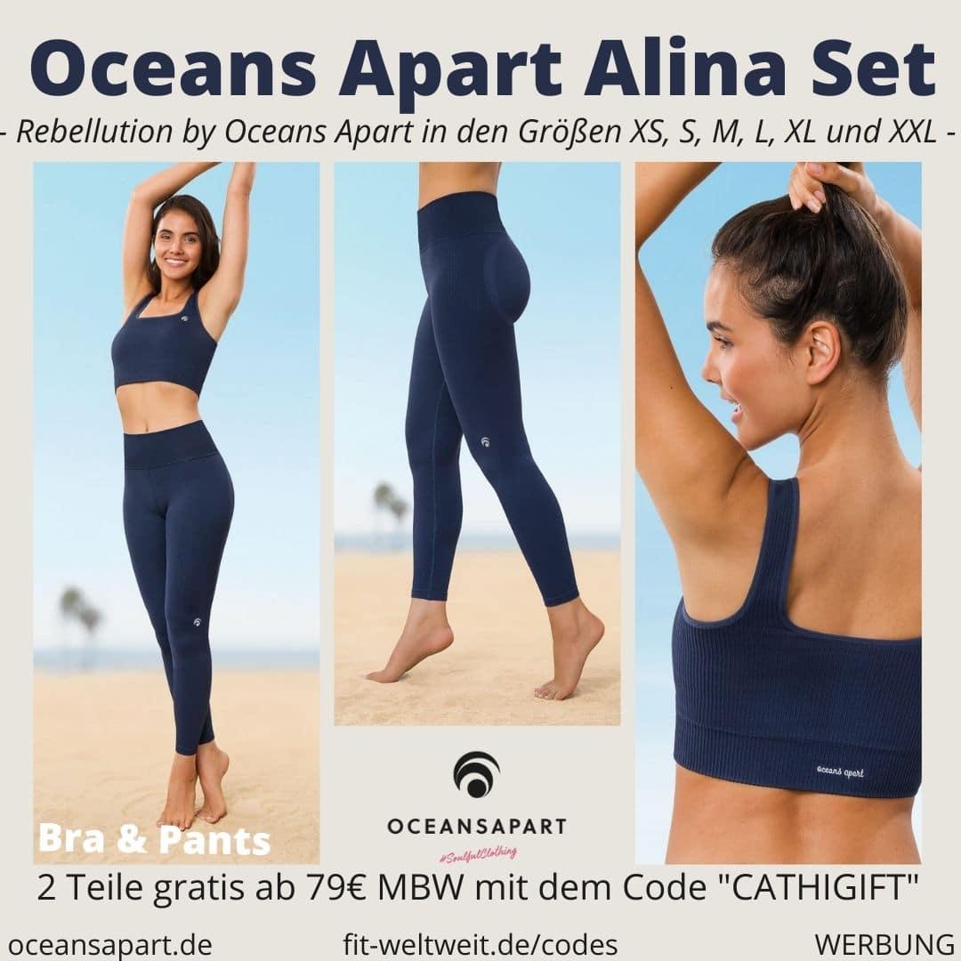Oceans Apart ALINA SET ERFAHRUNG Größe pant bra rebellution collection